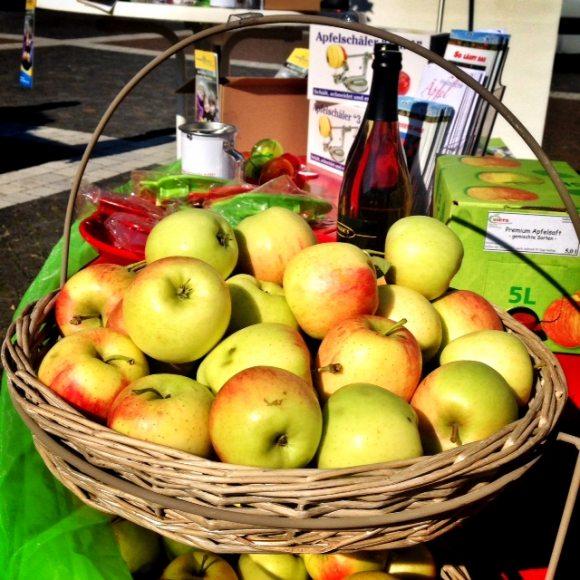 kinderlicht äpfel