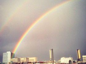 Regenbogen-Alarm in Hamburch