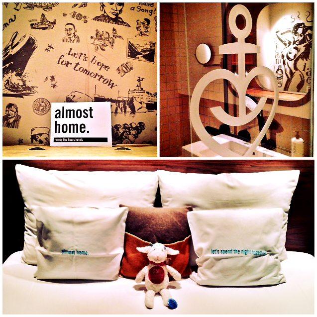 schlafen wie ein seefahrer im 25h hotel hafencity. Black Bedroom Furniture Sets. Home Design Ideas