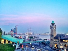 Promenade bei der Erholung Hamburg