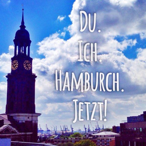 Ich und du. Hamburch. Jetzt!