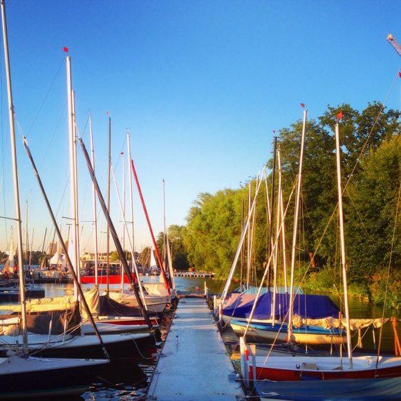 Segelboot Alster