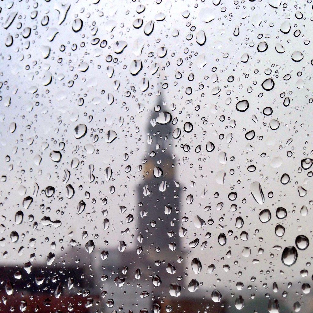 Typisch Hamburg Regen
