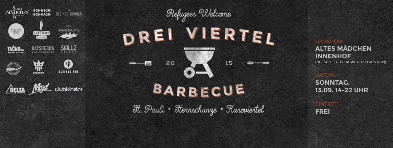Drei Viertel Barbecue Hamburg