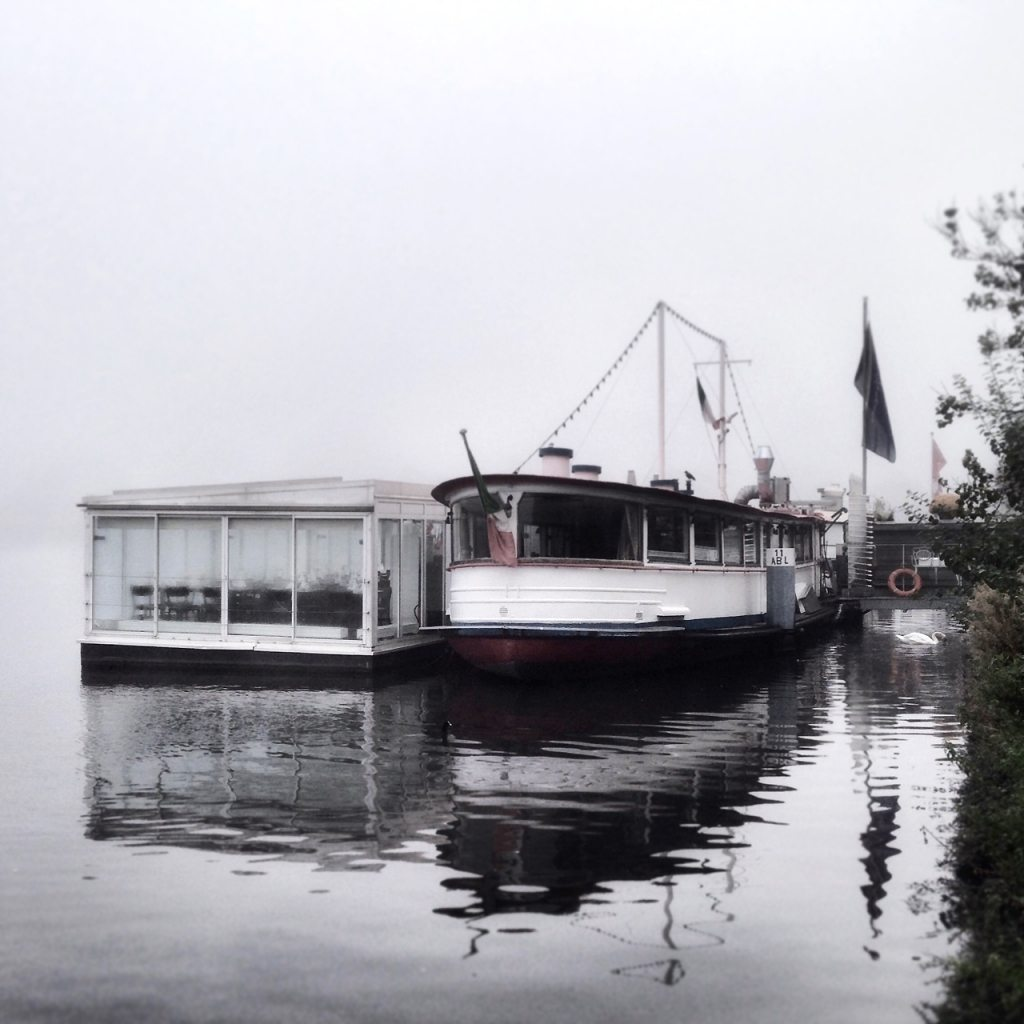 hamburch im nebel