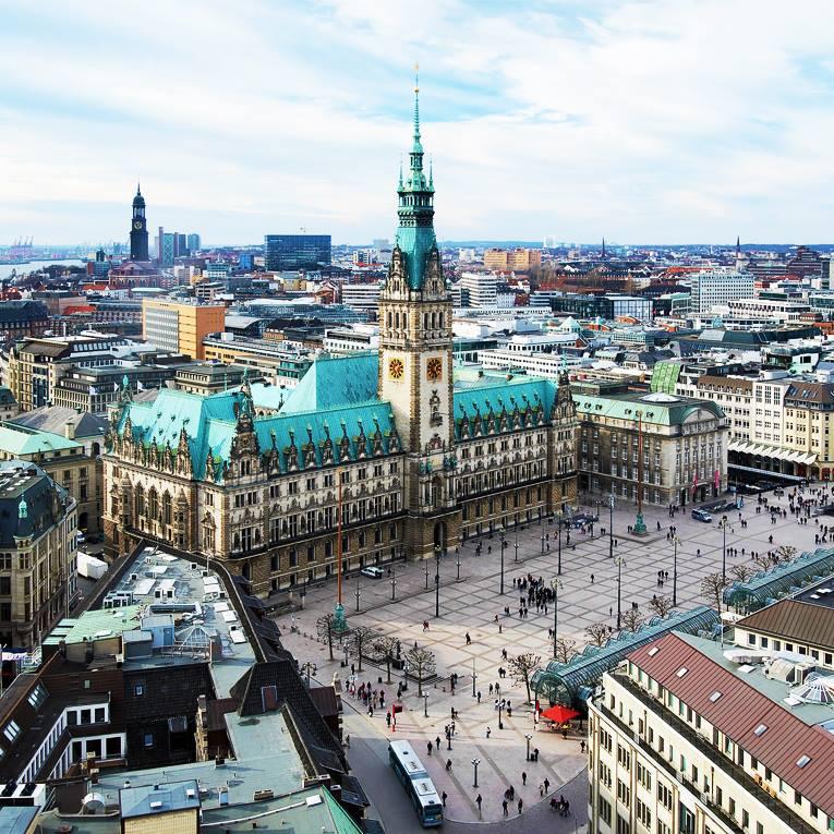 Hamburg Januar