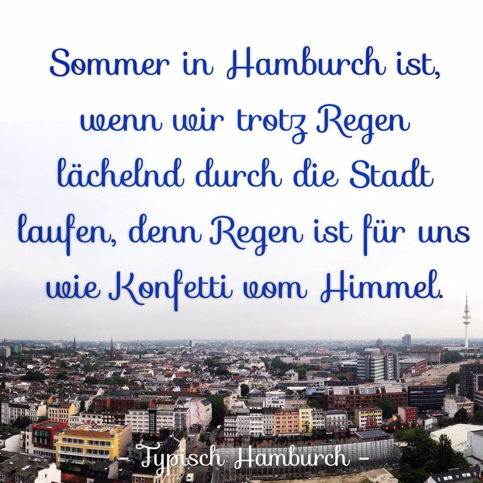 sommer in hamburg spruch