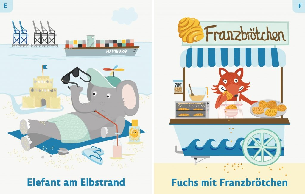 Elefant am Elbstrand