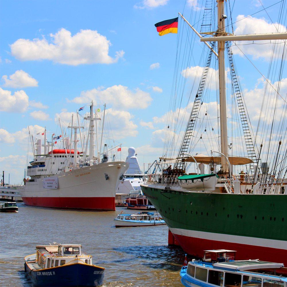 Zugezogene in Hamburg