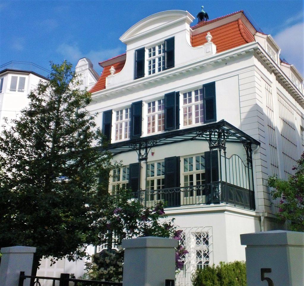 Stadtvilla Fernsicht 5 Alster Hamburg