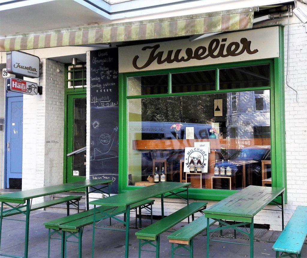Juwelier Espressobar Weidenallee Hamburg