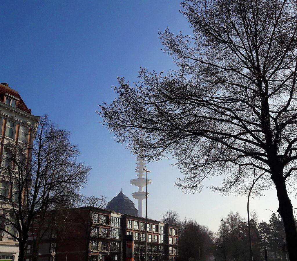 Weidenallee Schanzenpark Wasserturm Telemichel
