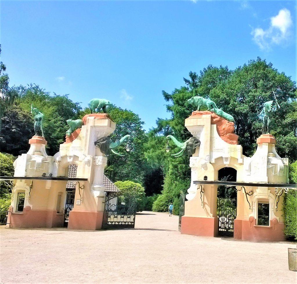 Eingang Tierpark Hagenbeck