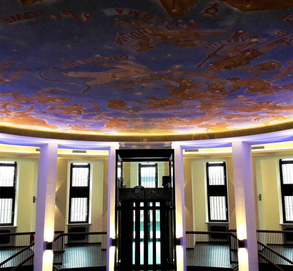 Himmelszelt Planetarium Hamburg