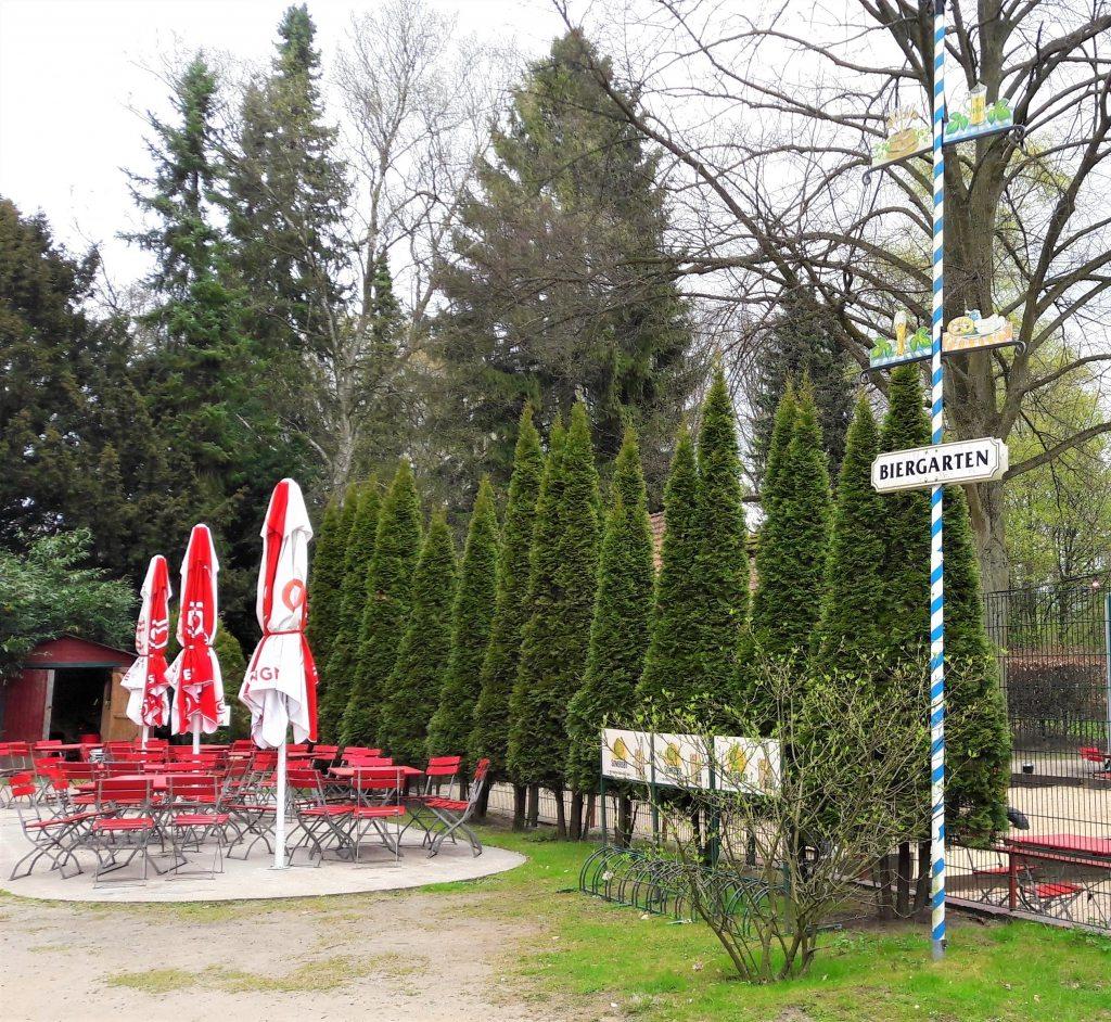 Biergarten im Stadtpark Hamburg