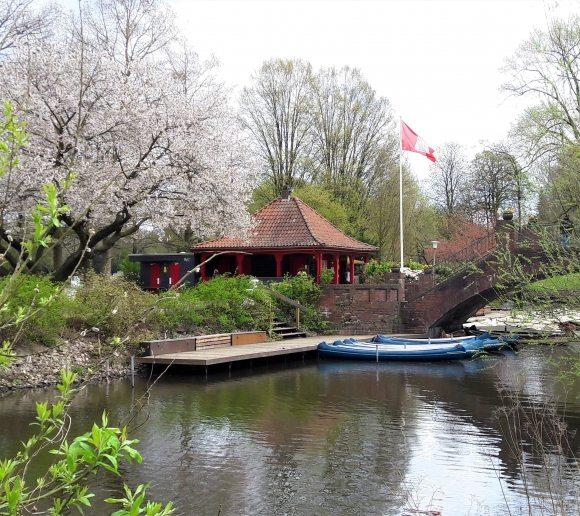 Bootsverleih Liebesinsel Stadtpark See Hamburg
