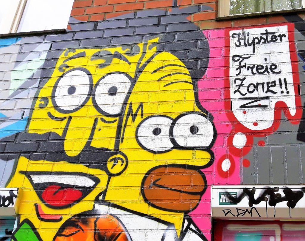 Hipster freie Zone Hamburg St.Pauli