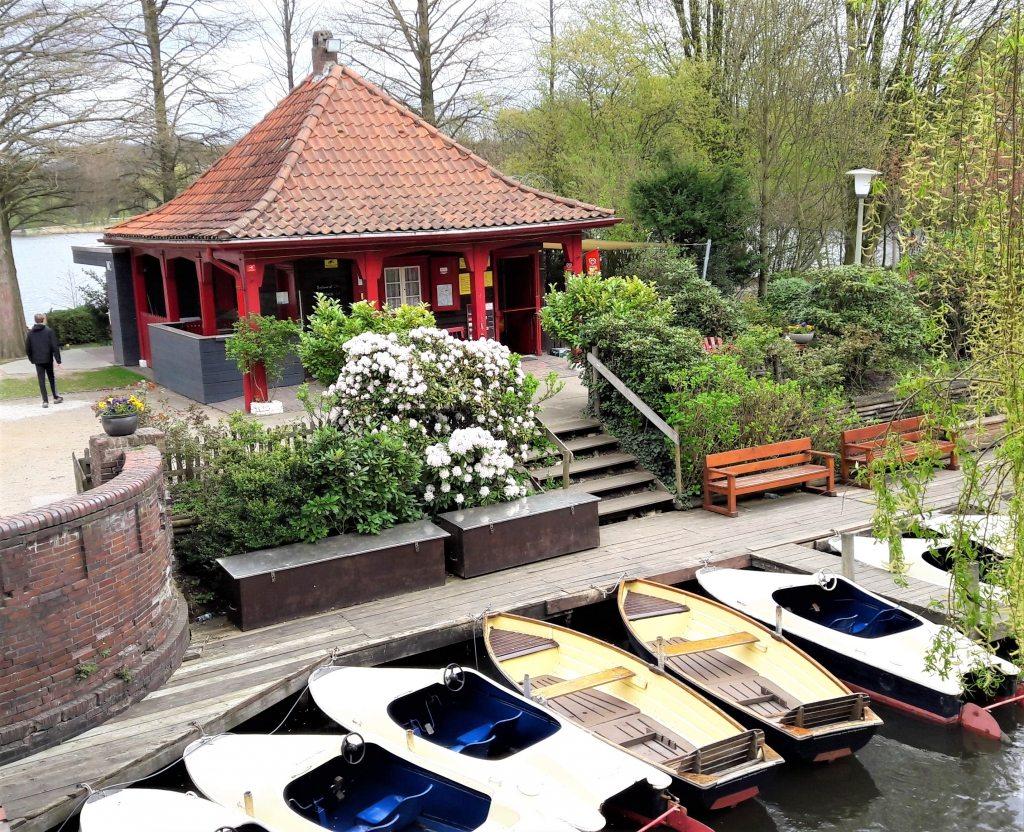 Liebesinsel Bootsverleih Stadtpark Hamburg