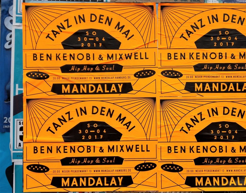 Tanz in den Mai Ben Kenobi Mixwell Mandalay Hamburg