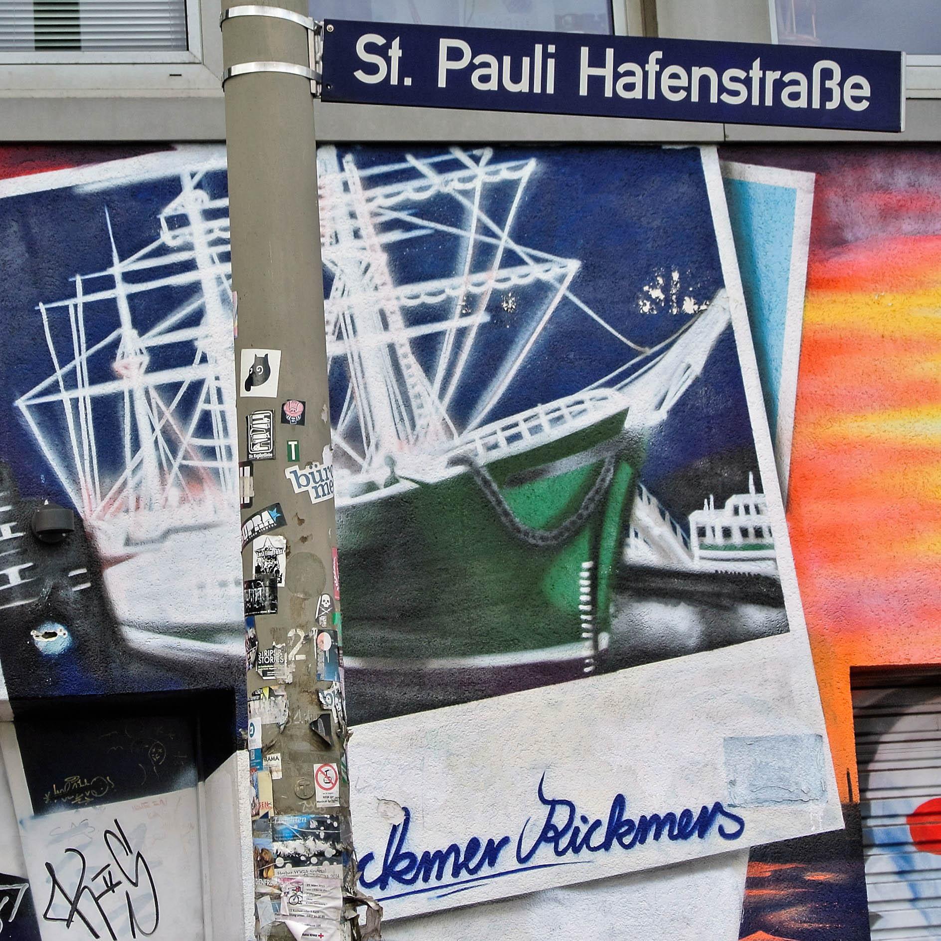 Ein Stück Hamburch Geschichte: Die Hafenstrasse