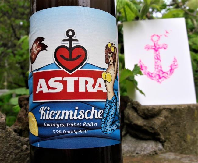Astra Kiezmische Radler Bier aus Hamburg
