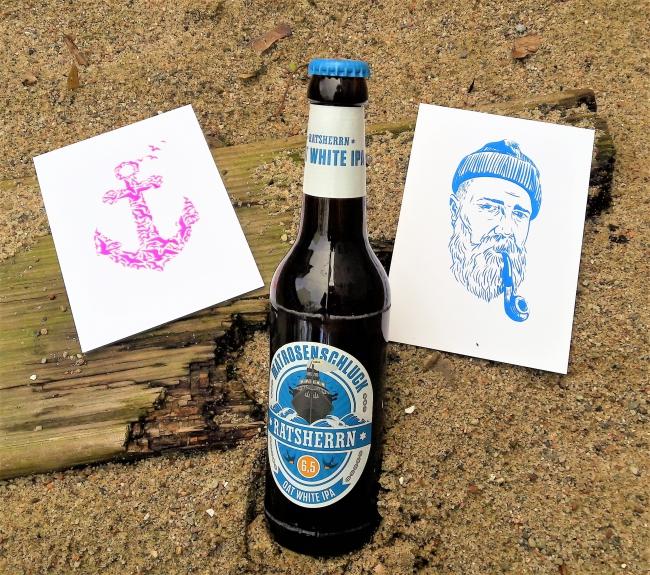 Ratsherrn Matrosenschluck Bier aus Hamburg