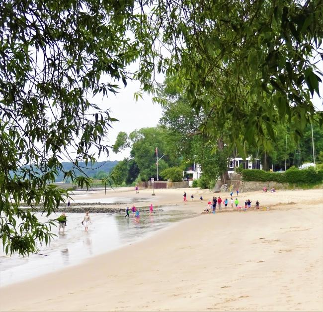 Elbstrand Falkensteiner Ufer