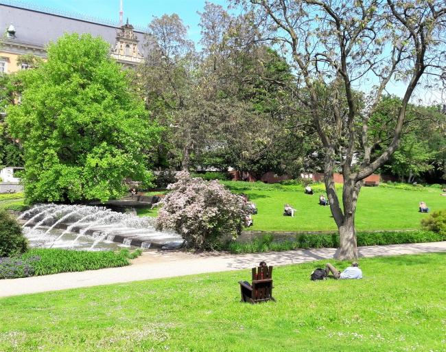Wasserspiele Planten un Blomen Hamburg