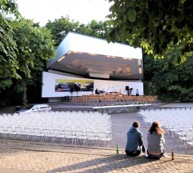 umsonst und draußen Konzerte im Musikpavillon Planten un Blomen Hamburg