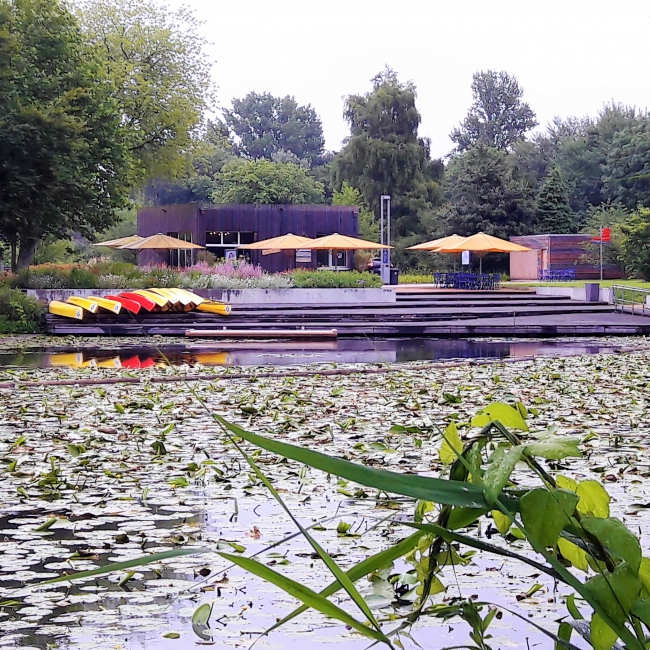 Kanu Verleih Kuckucksteich Wilhelmsburger Inselpark Hamburg