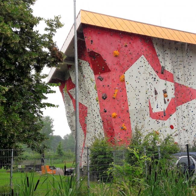 Nordwand Kletterhalle Wilhelmsburger Inselpark Hamburg