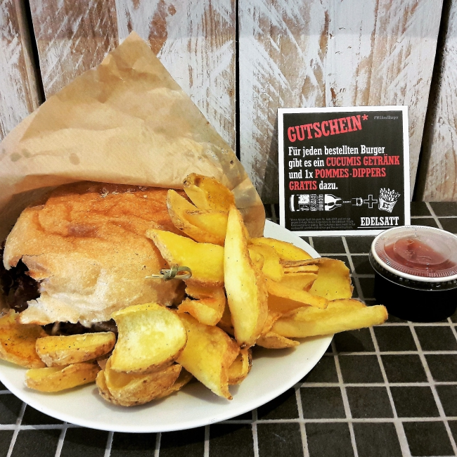 Vegg´s best Burger Edelsatt Karoviertel Hamburg