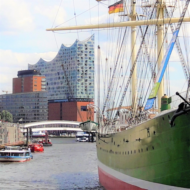 Elphi Rickmer Rickers Hafen Hamburg