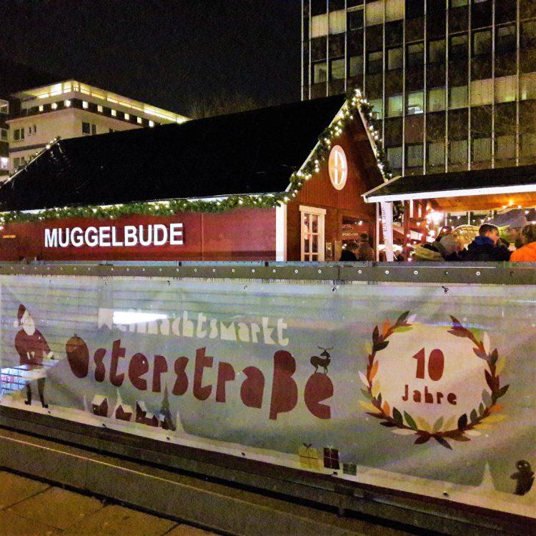 Muggelbude Weihnachtsmarkt Osterstraße