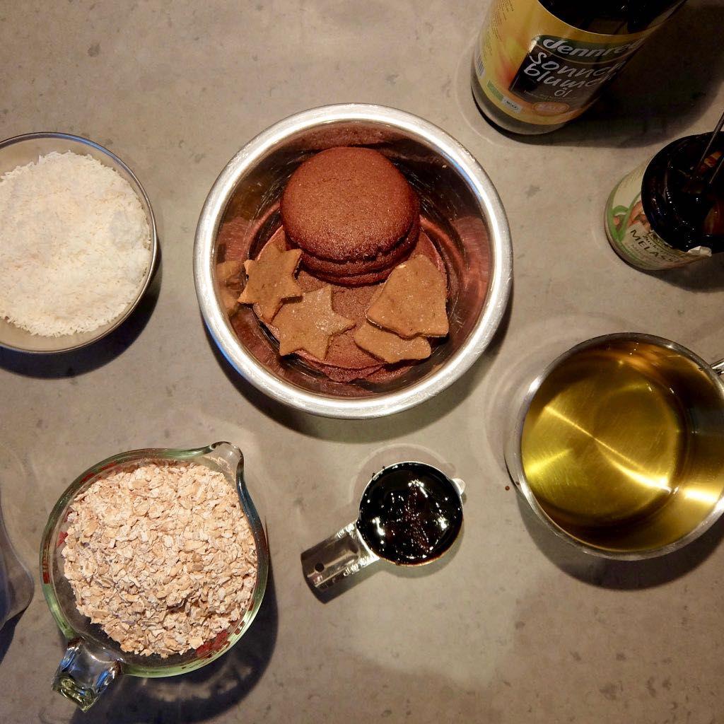 Granola Rezept Vorbereitung