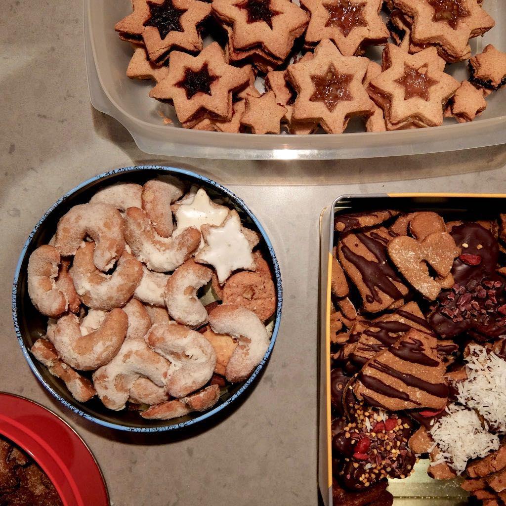 Granola Rezept, alte Kekse