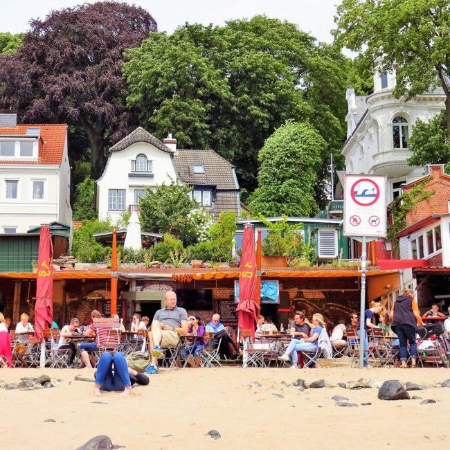Sommer in Hamburg Strandperle
