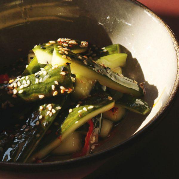 Leckerer Gurken Salat - SomeDimSum