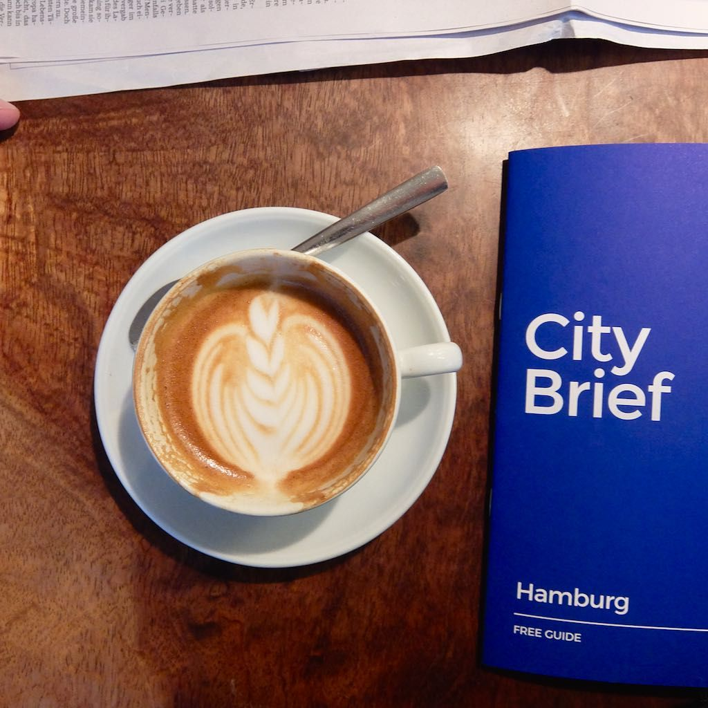 Blackline und City Brief Guide, Hamburg