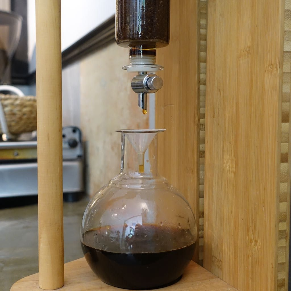 Cold Drip Coffee, Blackline, Eimsbüttel