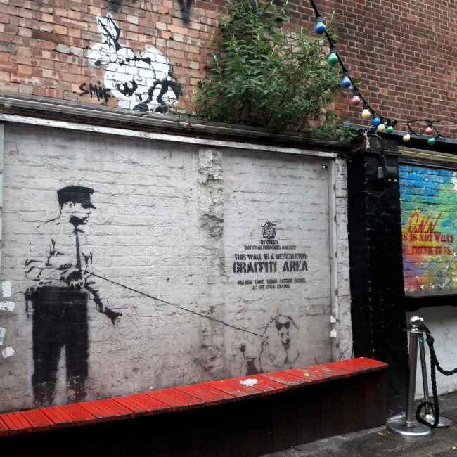 Banksy Graffiti Streetart London