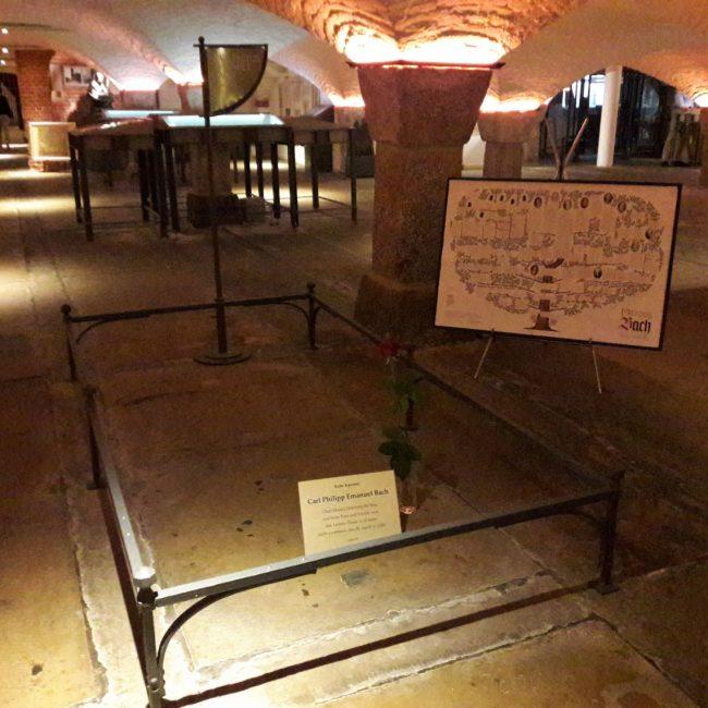 Grabplatte Krypta St.Michaeliskirche Hamburg