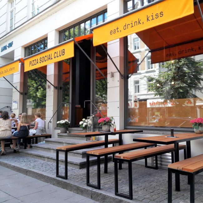 eat drink kiss Pizza Social Club Hamburg