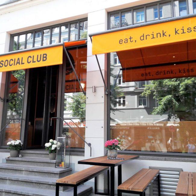 eat drink kiss im Pizza Social Club Hamburg