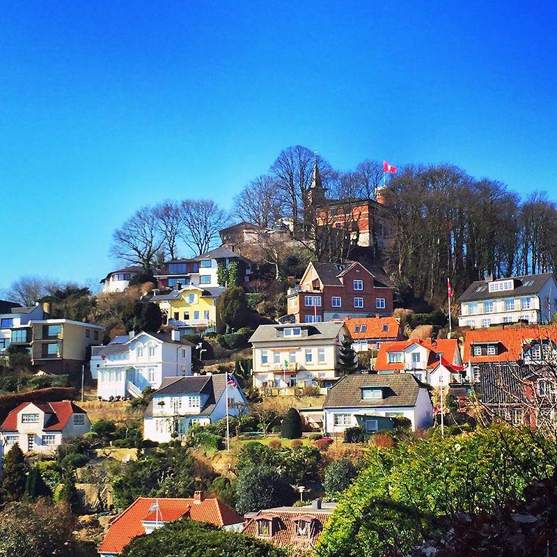 Der Stadtteil Blankenese und der Süllberg