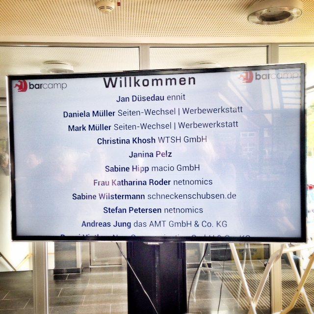 barcamp kiel 2014