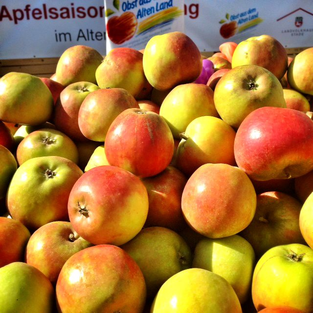 Äpfel Altes Land