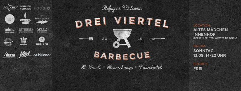 Drei Viertel Barbecue Hamburg