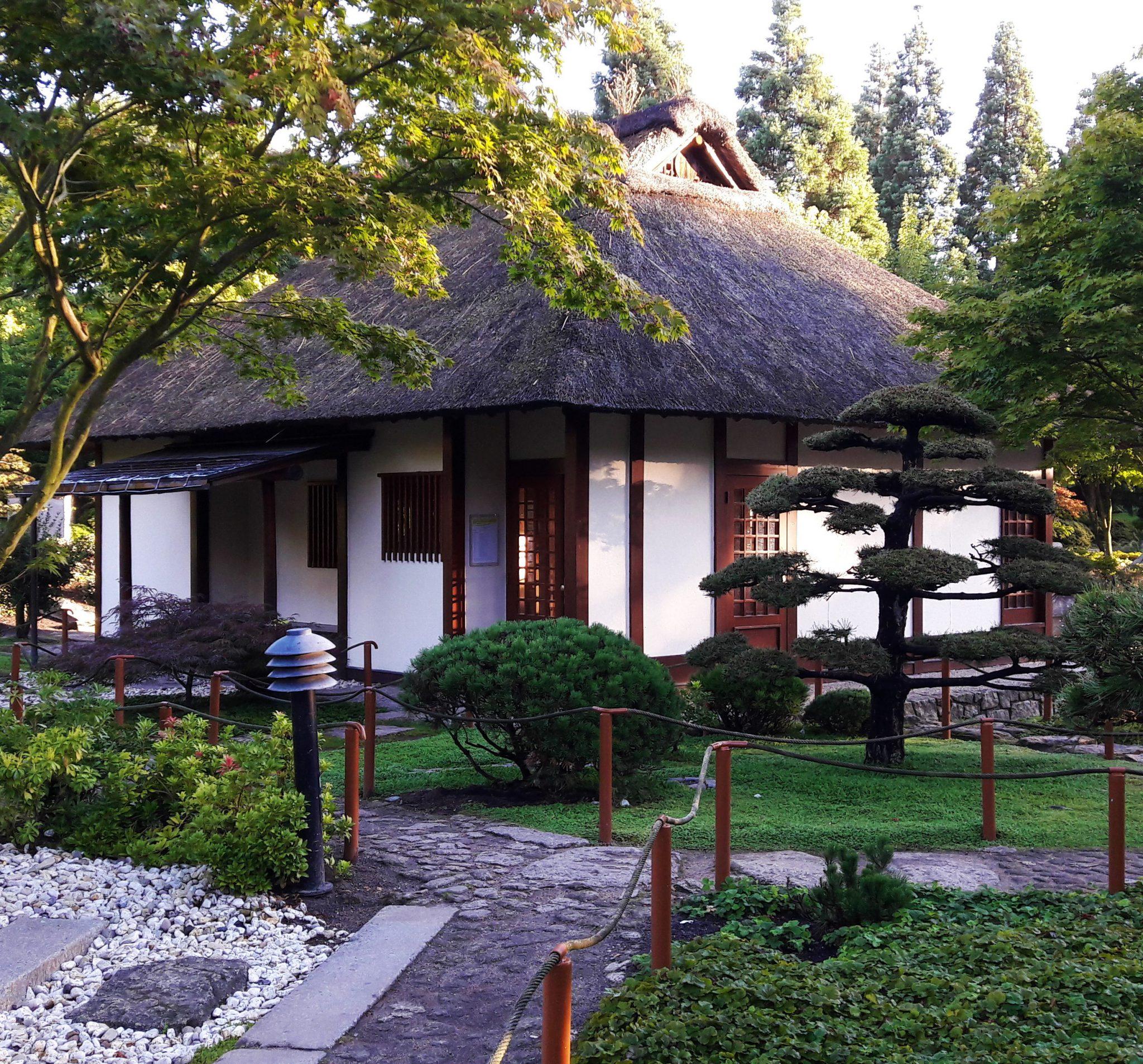 Japanischer Garten Teehaus Planten Un Blomen Hamburg Typisch Hamburch