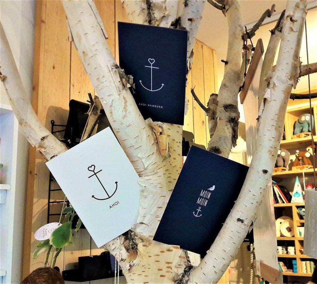Anker Ahoi Postkarten LIV Concept Store Hamburg